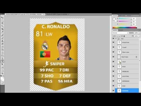 How to Make a Custom Fifa 14 Ultimate Team Card