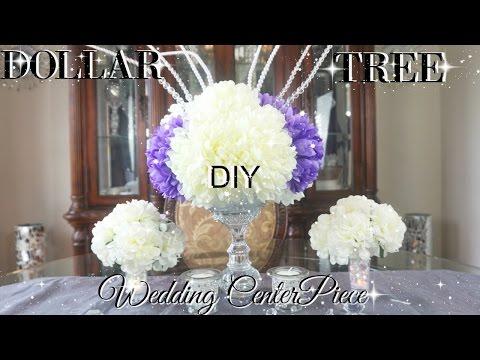 DIY DOLLAR TREE BLING WEDDING CENTERPIECES 2017 PETALISBLESS 🌹