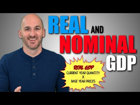 Macro: Unit 1.3 -- Real and Nominal GDP