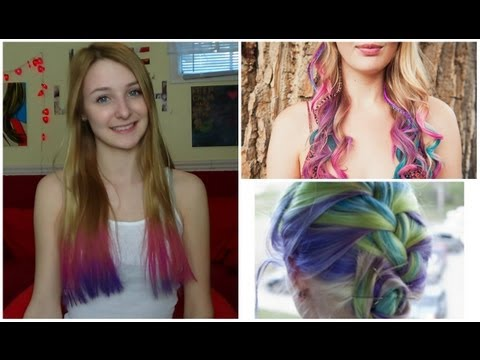 HAIR CHALK?!