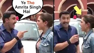 Ranveer Singh Makes FUN Of Sara Ali Khan On The First Day Of Simmba Movie| Funny Video