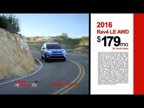 June RAV4 Lease Offer - Burien Toyota