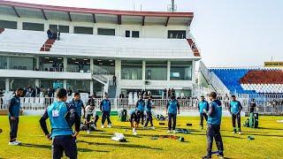 Practice in Rawalpindi Stadium
