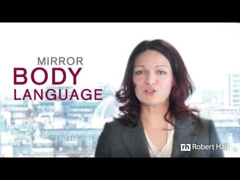 Essential Body Language Interview Tips