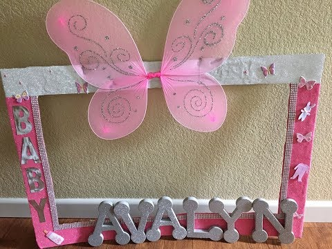 BABYSHOWER PHOTO FRAME PROP