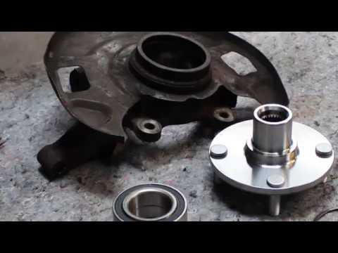 Nissan Altima Front Wheel Bearing Replacement | Tire Rod, Struts, CV Joint, Control Arm, Ball Joint