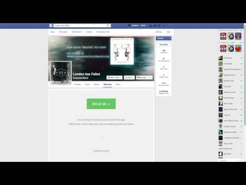 How to add music to your Facebook Page using Bandzoogle's embeddable player