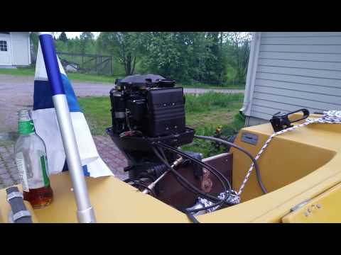 Yamaha outboard motor carburetor overflow
