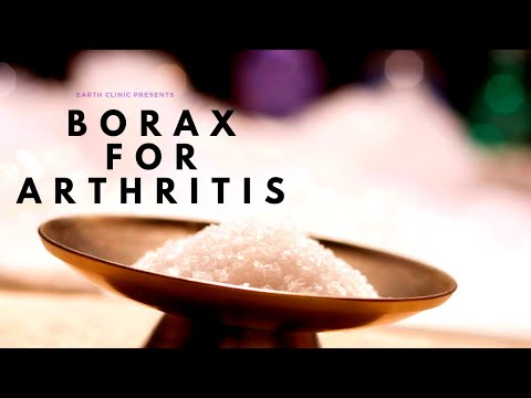 Borax Laundry Detergent Remedy for Arthritis, Osteoarthritis, Gout, Rheumatoid Arthritis, Pseudogout