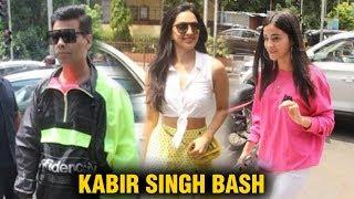 Download Kiara Advani, Ananya Panday & Khushi Kapoor Join Karan Johar On Lunch Date Video