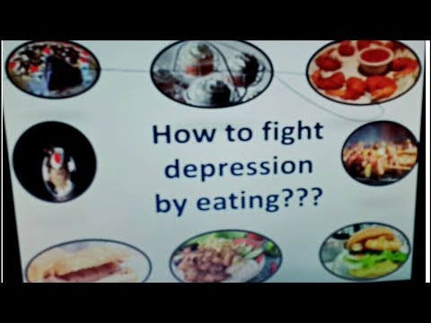 How to overcome depression by eating ??? __Fight DEPRESSION naturally __anti depression food