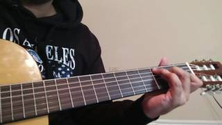 Maaeri  Euphoria  Complete simple Guitar Lesson