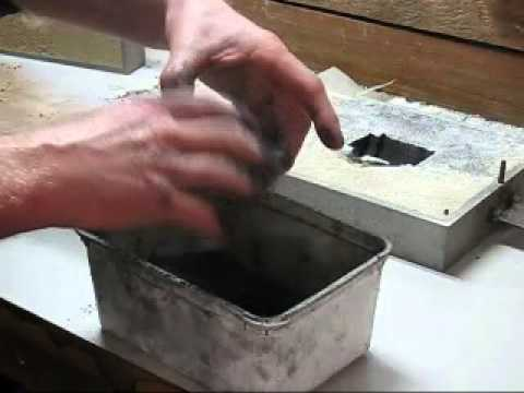 Portland cement as a sand binder