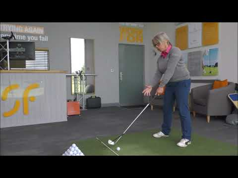 Stop opening your golf club face & keep it squarer for straighter golf shots