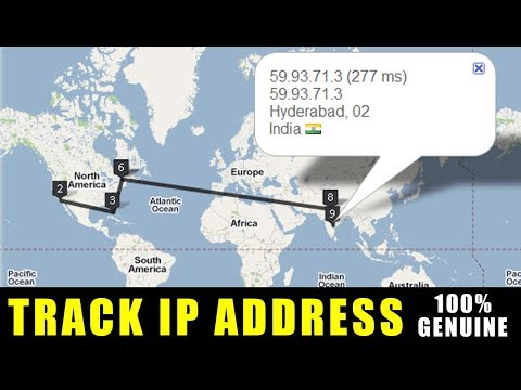 How To Track IP Address Facebook   Gmail   Yahoo