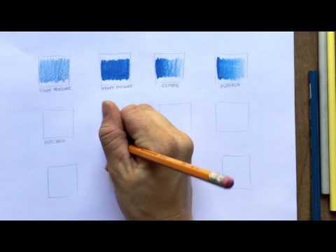 12 Simple Colored Pencil Techniques