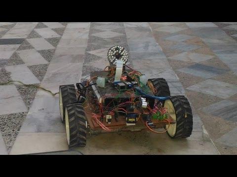 Wadoro : Raspberry Pi based Autonomous Wheeled Surveillance Robot