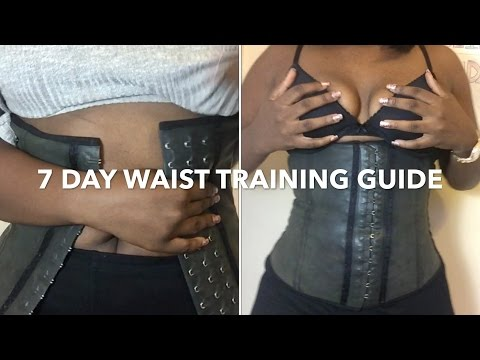 7 DAY WAIST TRAINING GUIDE FOR BEGINNERS!