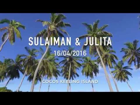 SULAIMAN & JULITA'S WEDDING - 16th April (COCOS KEELING ISLAND)