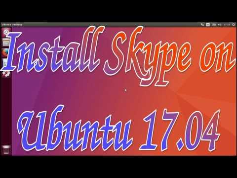 Install Skype on Ubuntu 17.04