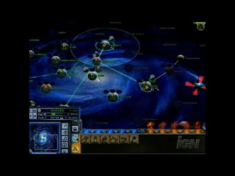 Star Wars: Empire at War PC Games Gameplay - Galactic Map