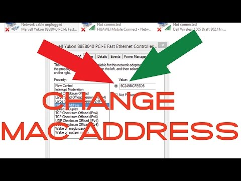 How to change mac address your windows pc Easy step by step!!
