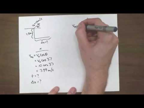 Example - Projectile High to Low