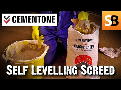 How to Apply Cempolatex Self Levelling Screed