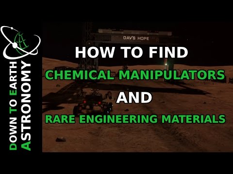 HOW TO FIND CHEMICAL MANIPULATORS AND OTHER RARE ENGINEERING MATERIALS | ELITE DANGEROUS