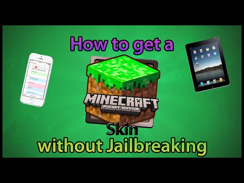  How to change your Minecraft Pocket Edition Skin! [NO JAILBREAK] 