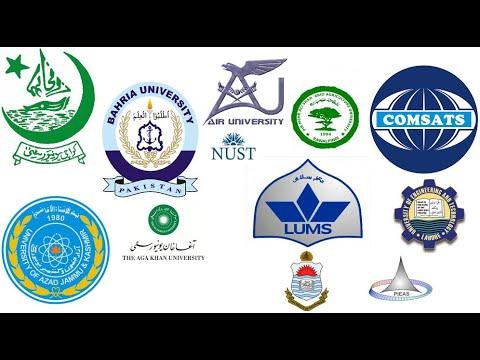 List of top universities in Pakistan