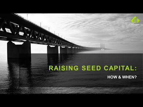How to successfully raise seed capital