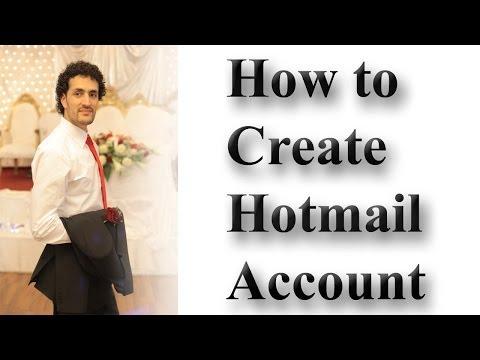 Internet Part 1) Create an email address in Hotmail in Dari / Farsi Omar Akbari