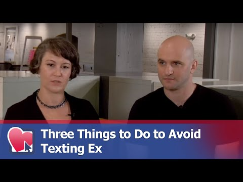 Three Things to Do to Avoid Texting Ex - by Mike Fiore (for Digital Romance TV)