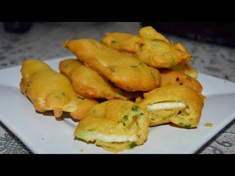 [Mauritian Cuisine] Breadfruit fritters Recipe   Recette gateau fruit a pain