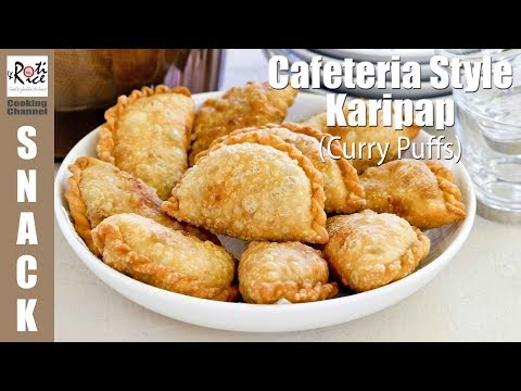 Cafeteria Style Karipap (Curry Puffs) | Roti n Rice