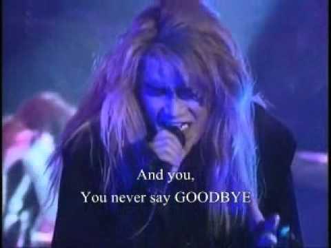 X Japan   Tears with Lyrics