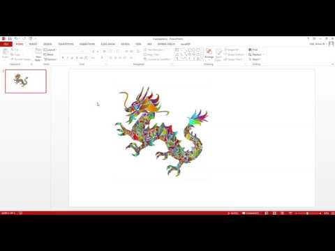 Making Transparent Background in PowerPoint