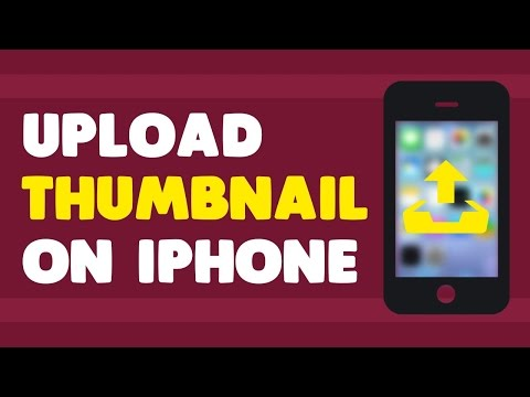 Upload Thumbnails from iPhone 2017