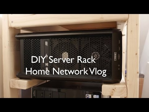 DIY Server Rack | Home Network Vlog