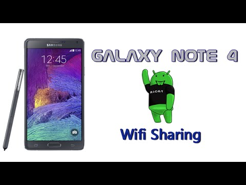 Galaxy Note 4 Hidden Feature - How to Share Your Wifi