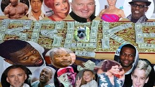 30 Celebrities That Are Actually Poor/ Broke :(