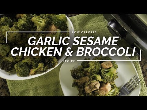 Garlic Sesame Chicken & Broccoli | Easy Slow Cooker Takeout Recipe