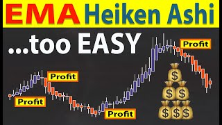 🔴 EMA-Heiken Ashi   This is The Trading Strategy The Top 5% Use (and it makes trading way too EASY!)