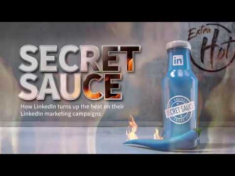 Introducing the New Secret Sauce Recipe for Marketing on LinkedIn