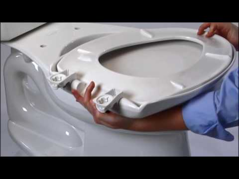 Easy Clean & Change with STA-TITE Seat Fastening System Install - HD Supply Facilities Maintenance