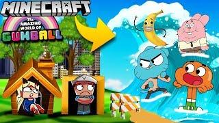 Baza Vs Tsunami Dame Tu Cosita Minecraft Tsunami Challenge Vito