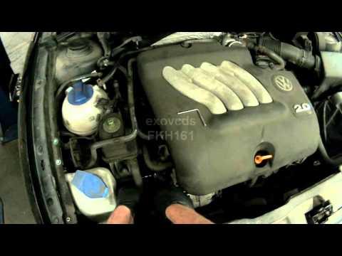 VW A4: 2.0L AVH Serpentine Belt Removing...