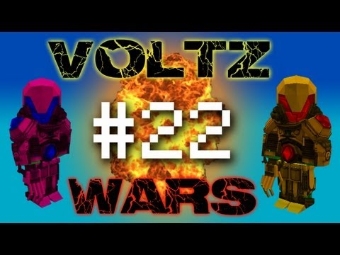 Minecraft Voltz Wars - Rocket Fuel and Oxygen! #22