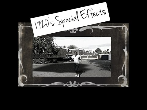 1920's special effects